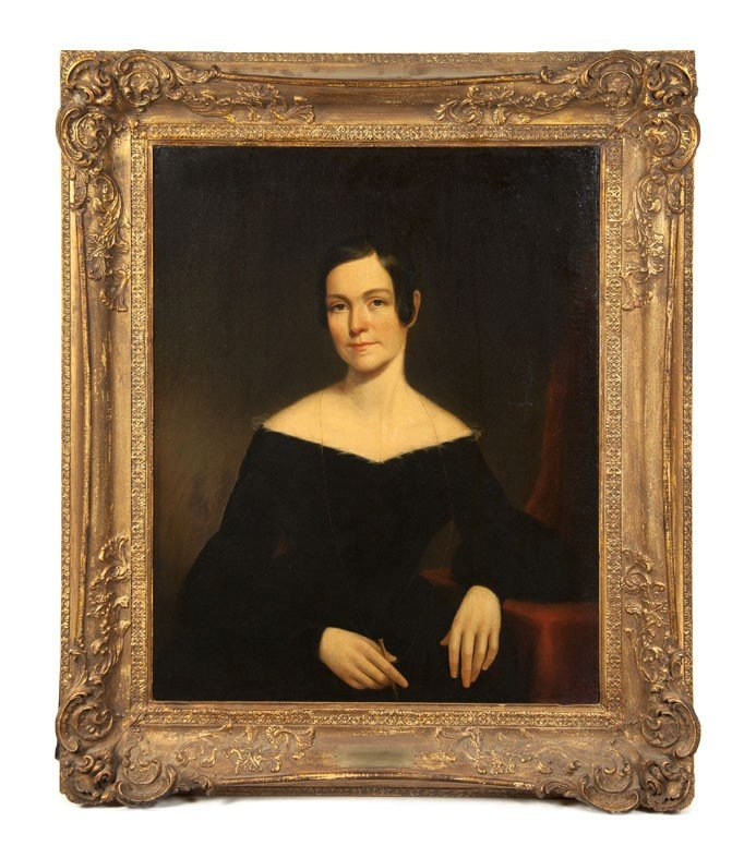 618: Artist Unknown, 19th Century School, Portrait