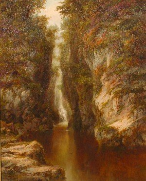7: Albert E. Gyngell, (British, 1874-1911), Stream in C