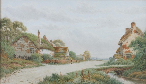 8: Alfred Waters, (British, 19th/20th Century), Cottage