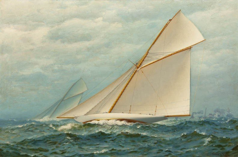 3: James Gale Tyler, (American, 1855-1931), America's C