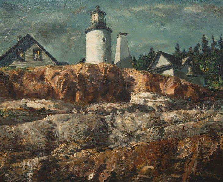 9: Andrew George Winter, (American, 1893-1958), Rocky L