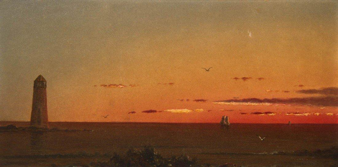 10: Martin Johnson Heade, (American, 1819-1904), Calm S