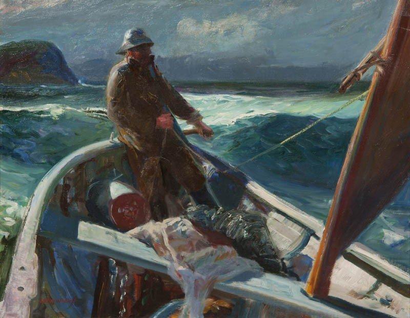 11: John Whorf, (American, 1903-1959), At Sea
