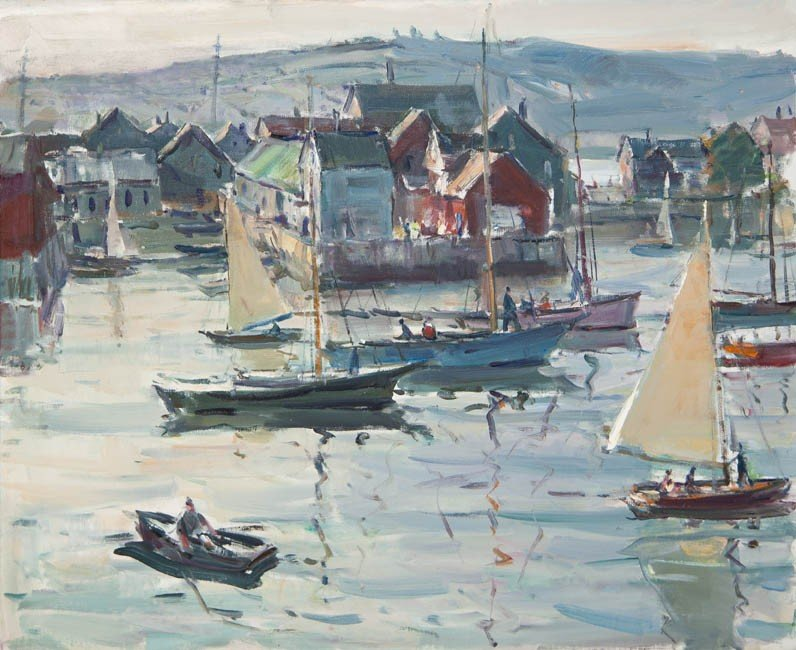 12: Carl Peters, (American, 1897-1980), Bearskin Neck,
