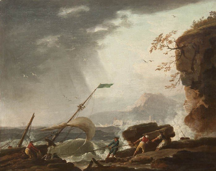 17: Attributed to Charles-Francois LaCroix, (French, b.