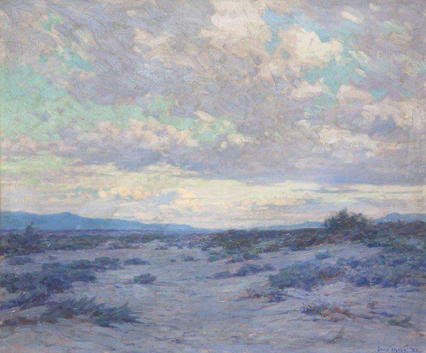 25: John Frost, (American, 1890-1937), Desert Landscape