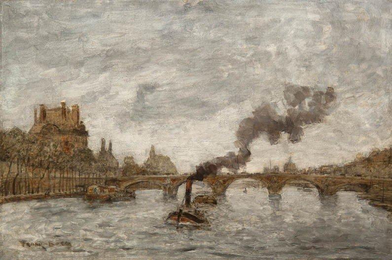 26: Frank Myers Boggs, (American, 1855-1926), Pont Roya