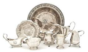 538 A Collection of American Sterling Silver Articles