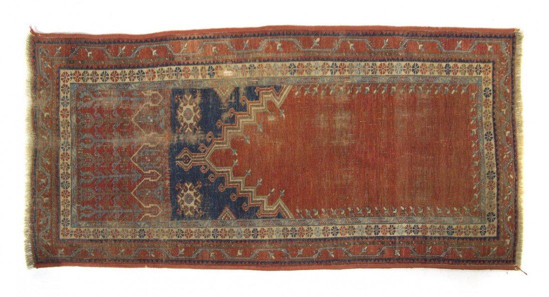 904: A Northwest Persian Prayer Rug, 4 feet 5 inches x