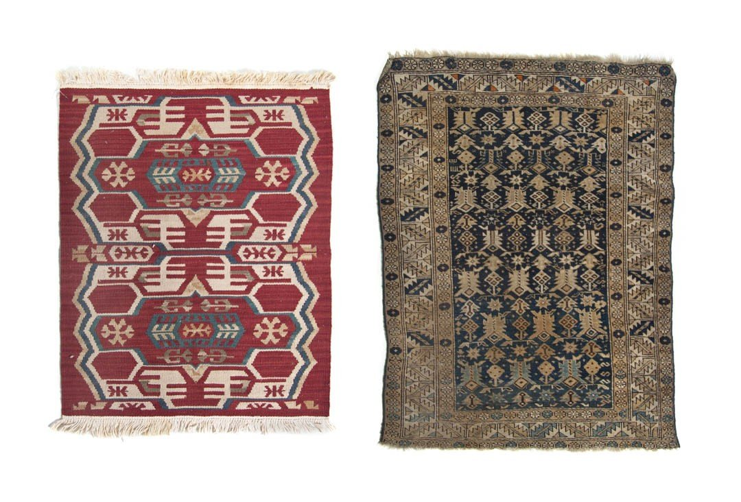 905: A Northwest Persian Flatweave Wool Carpet, First 3