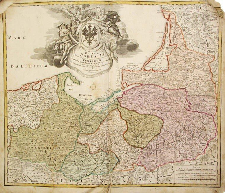 9: HOMANN, (J. B., HEIRS OF) Atlas Compendiarius seu it