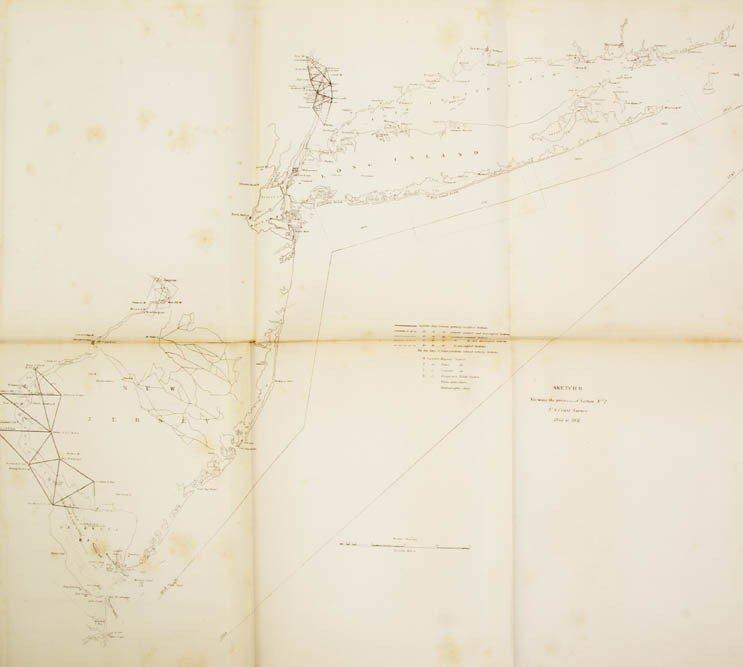 20: U.S. COAST SURVEY. Sketches Accompanying the Annual