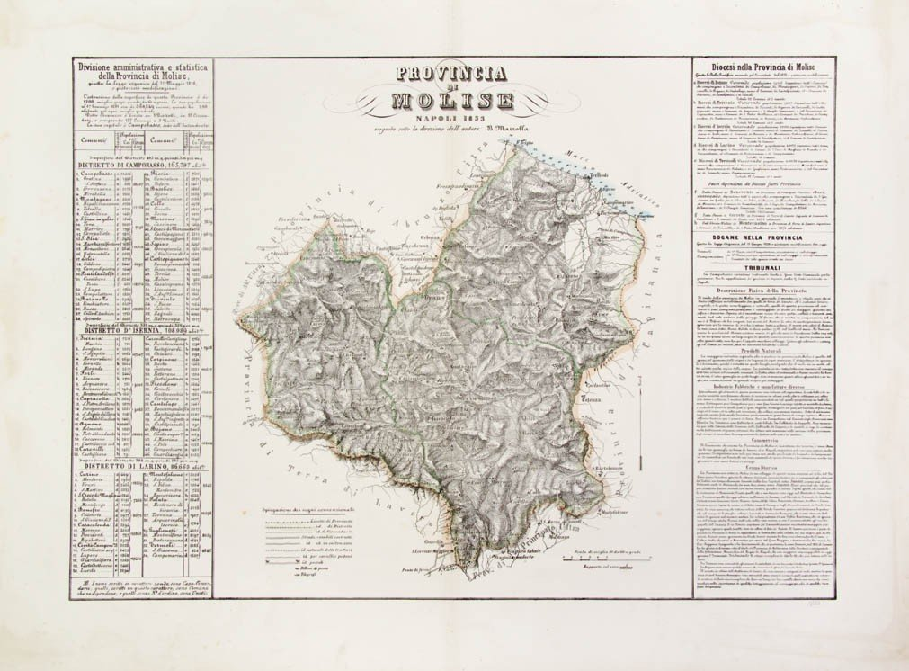 23: (MAPS) A group of 10 maps of Italy.