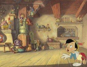 392 Walt Disney Pinocchio Gepetto S Workshop 1940