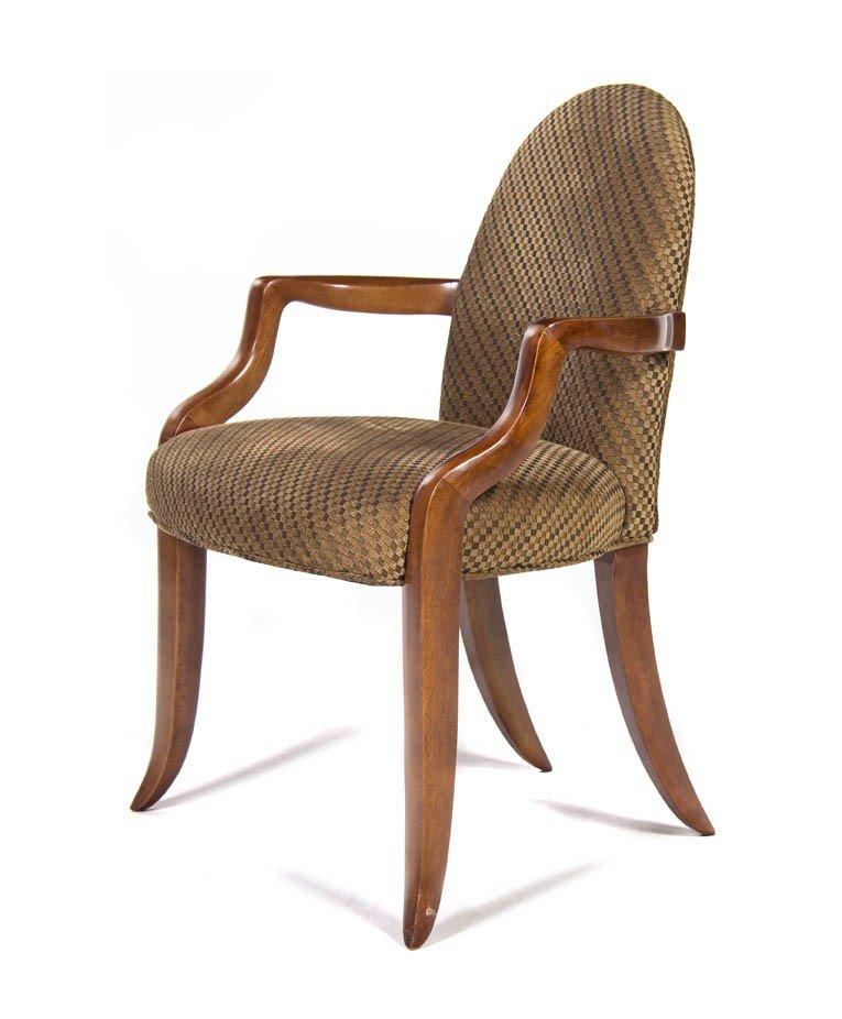 20: A Contemporary Armchair, Castlebury, Height 34 inch