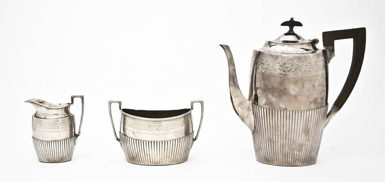 535: An English Silverplate Coffee Service, James Dixon