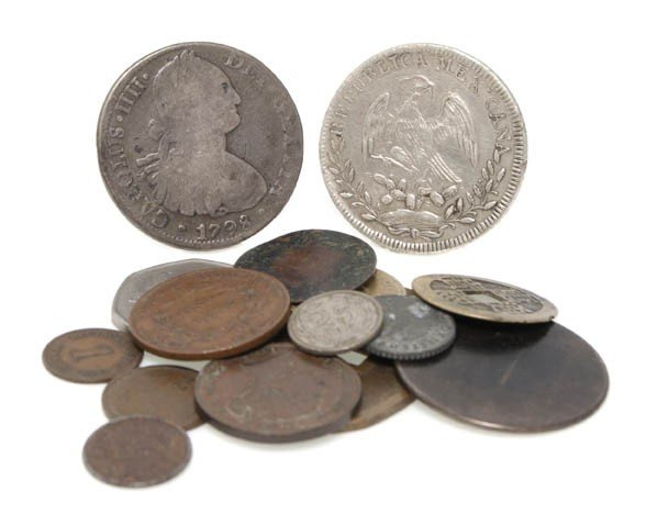 539: A Collection of Mexican Silver Reales,