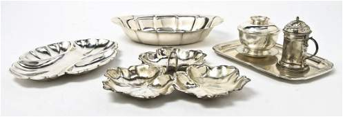 544 A Collection of American Sterling Silver Articles