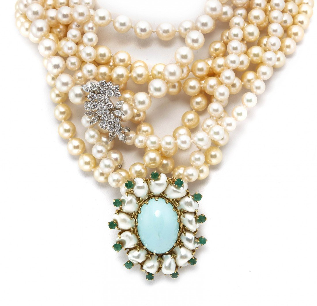 479: A Group of Cultured Pearl Jewelry,