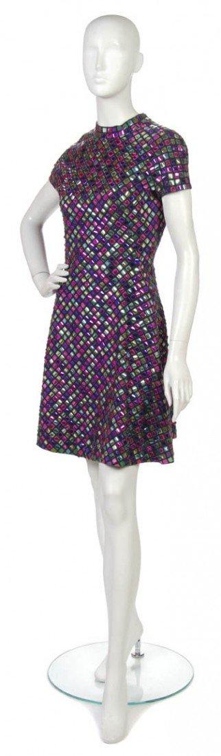 8: An Arnold Scaasi Paillette Dress.