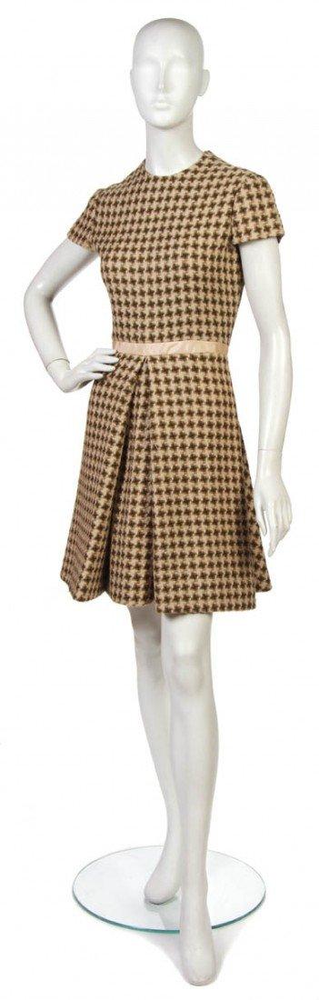 16: An Arnold Scaasi Tweed Dress.
