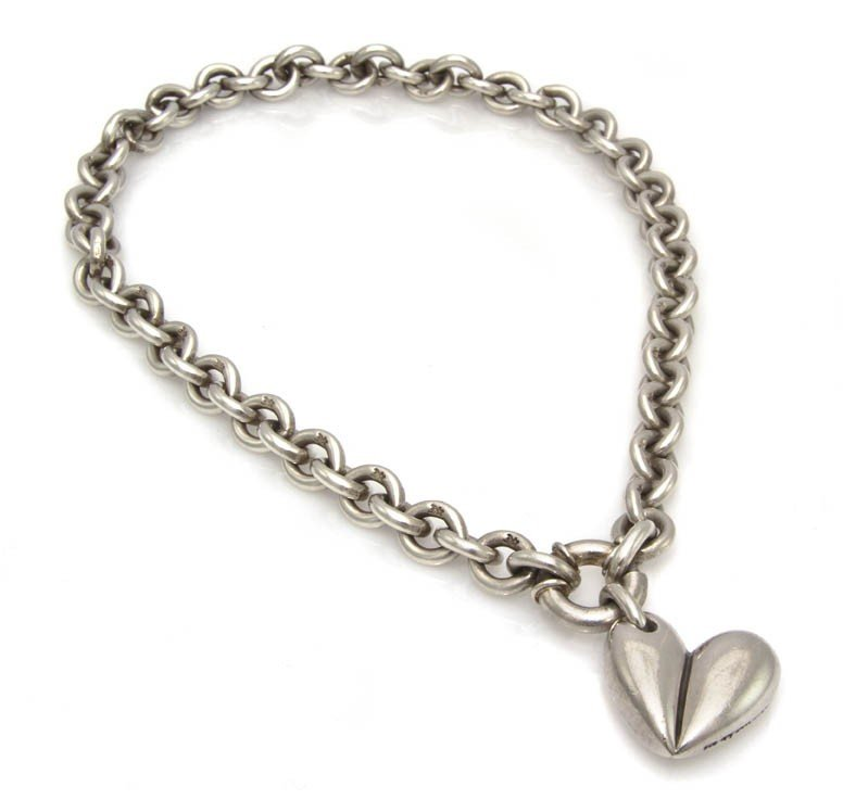 445: A Kieselstein-Cord Sterling Silver Necklace.