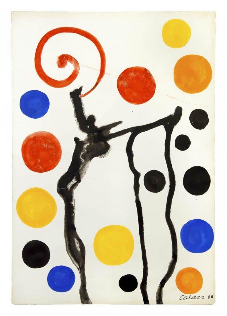 7: Alexander Calder, (American, 1898-1976), Black Boot,