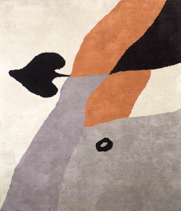 8: Hans Arp, (French, 1886-1966), As de pique