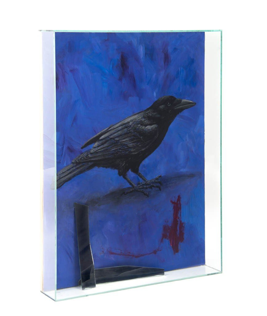 17: Therman Statom, (American, b. 1953), Crow