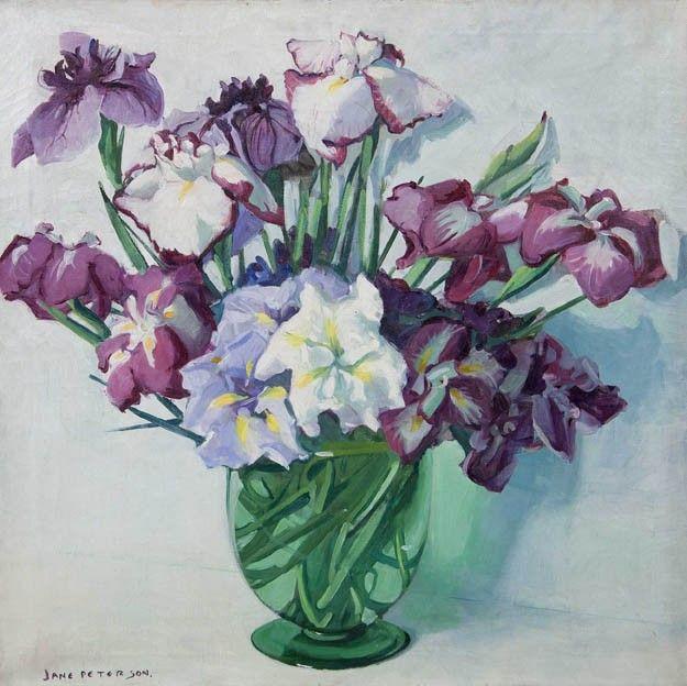 Jane Peterson, (American, 1876-1965), Irises