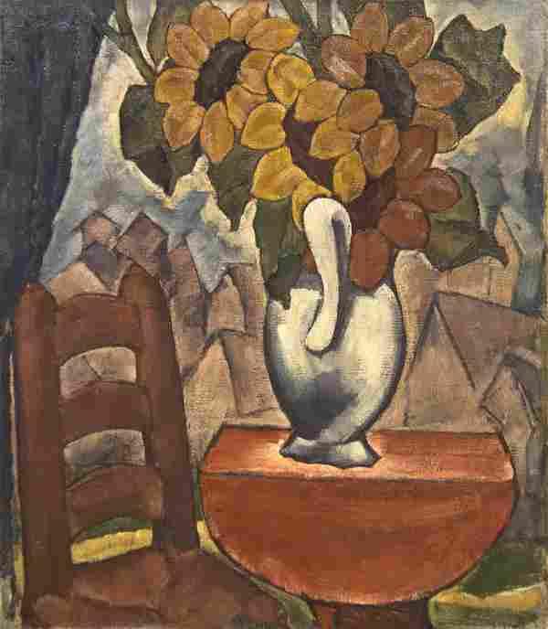 Henri Burkhard, (American, 1892-1956), Still Life