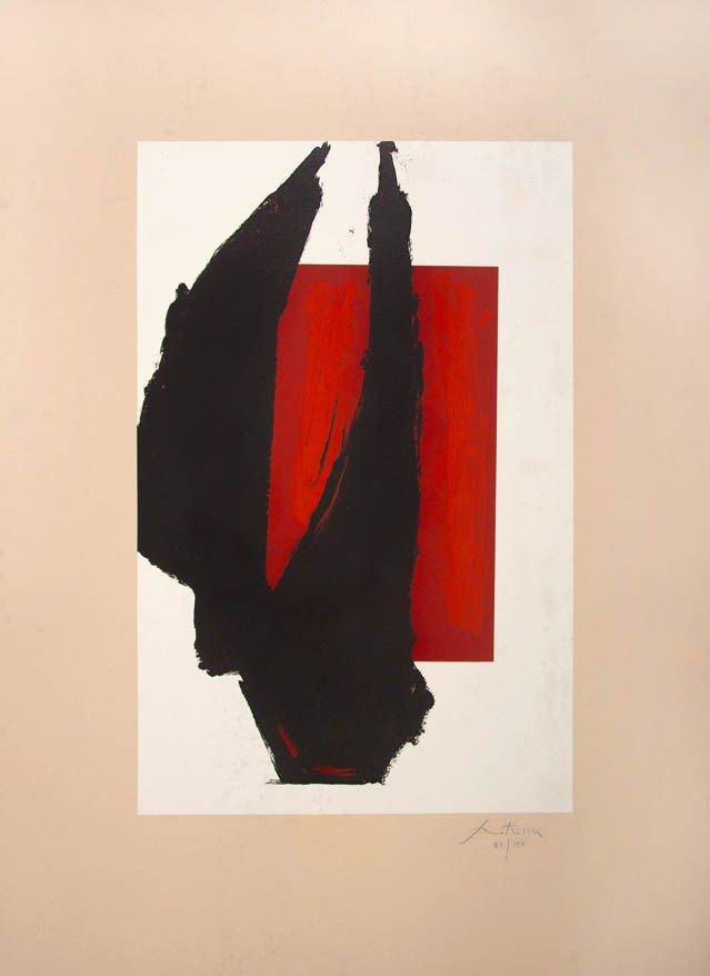 1002: Robert Motherwell, (American, 1915-1991), Art Chi