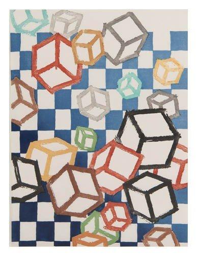 1006: Mel Bochner, (American, b. 1940), Floating World,