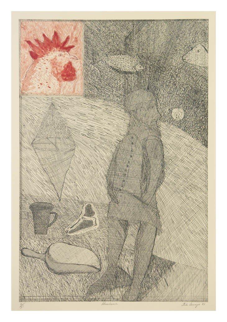 1012: Italo Scanga, (American, 1932-2001), Abundance