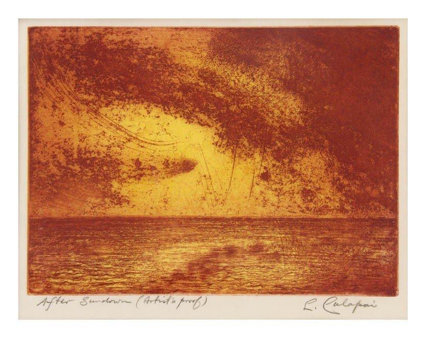 1016: Letterio Calapai, (American, 1902-1993), After Su
