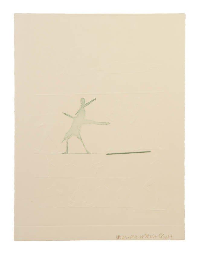 1021: Robert Rauschenberg, (American, 1925-2008), Cunni