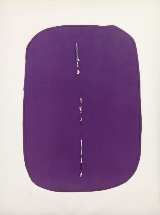 1069A: Lucio Fontana, (Argentine, 1899-1968), Concetto