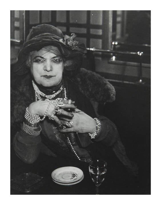 1181: Brassai, (French, 20th century), Madame Bijou, 19