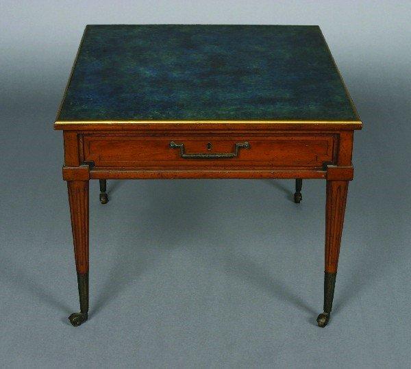 21: A Walnut Low Table, Height 19 x width 29 x depth 24