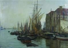 1206: Wilhelm Karl Ferdinand Arnesen, (Danish, 1865-194