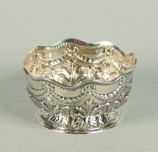 1539: A Victorian Silver Bowl, London, Diameter 4 1/4 i