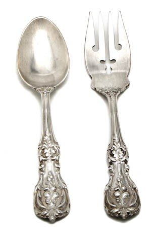 4: An American Sterling Silver Dessert Service, Reed &
