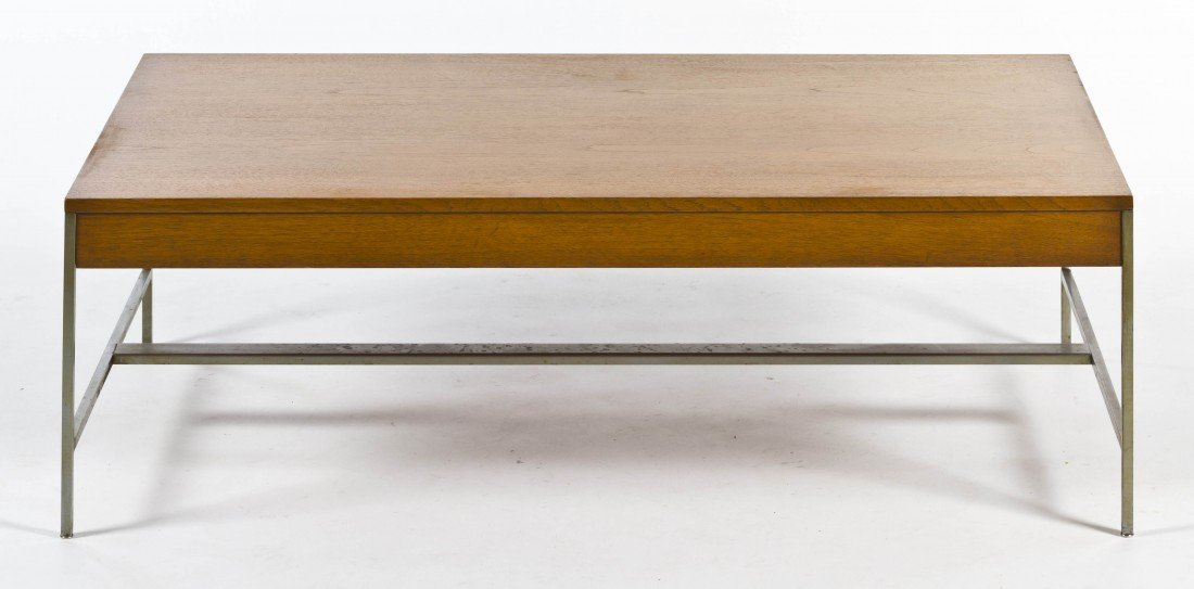 12: An American Low Table, Herman Miller, Height 14 1/2