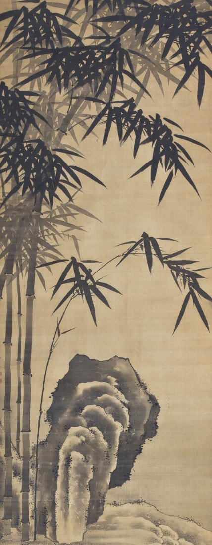 359: A Group of Two Chinese Paintings, Height 48 x widt