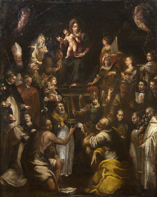 490: Artist Unknown, (18th century), Adoration