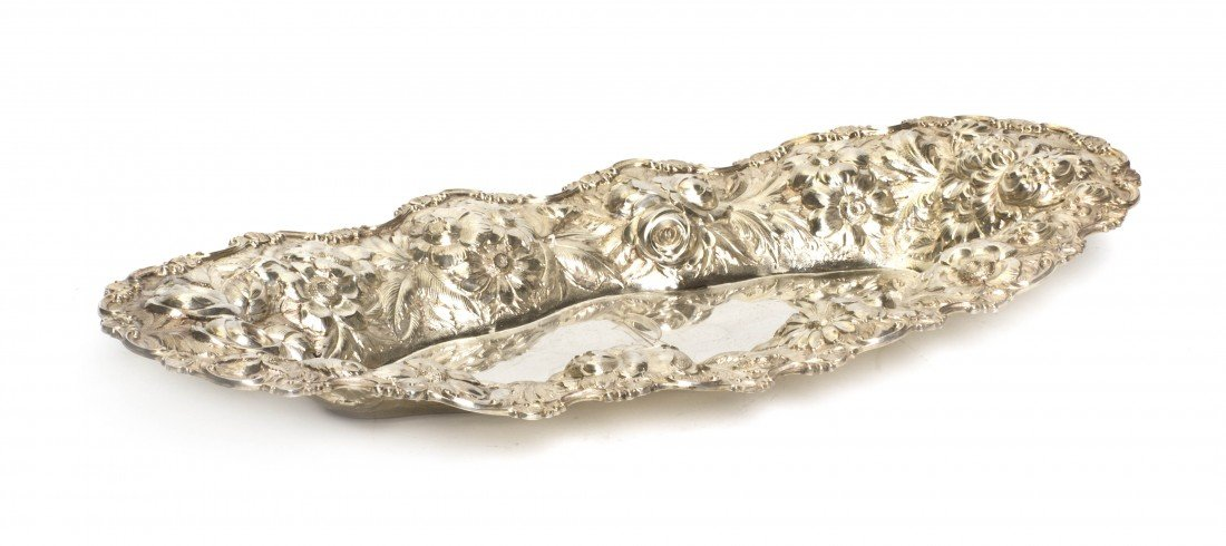696: An American Sterling Silver Bowl, Stieff, Width 17