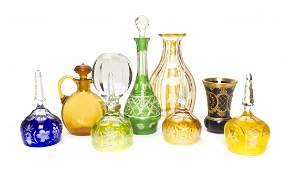 871: A Collection of Bohemian Glass Articles, Height of