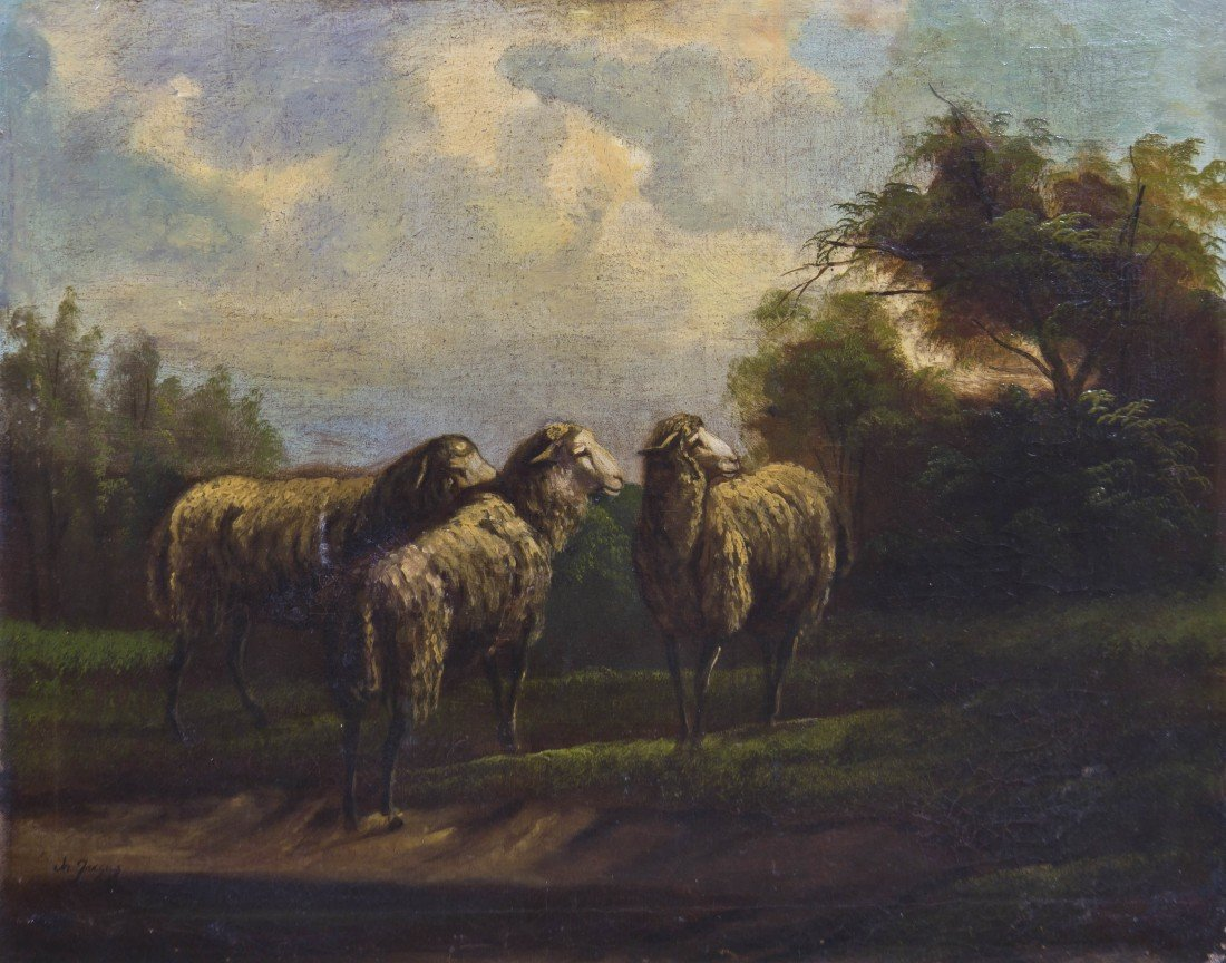 1061: M. Jacques, (18th century), The Sheep