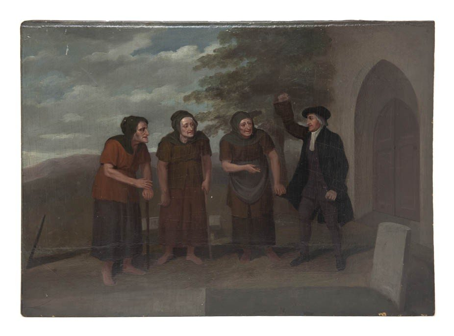 1071: Artist Unknown, (18th/19th century), The Peddlers