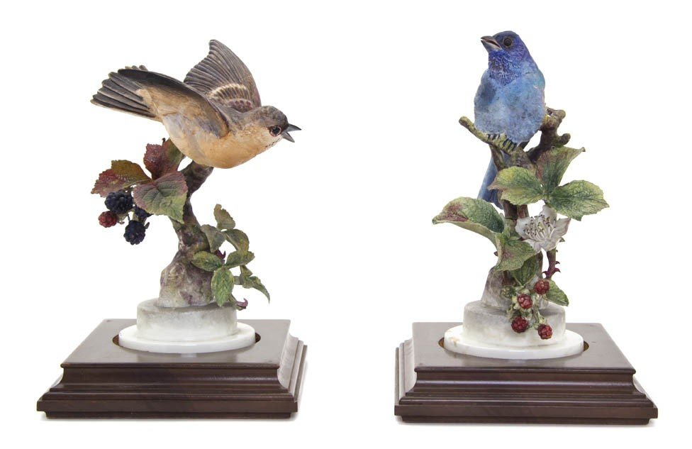 880: A Group of Royal Worcester Dorothy Doughty Birds,